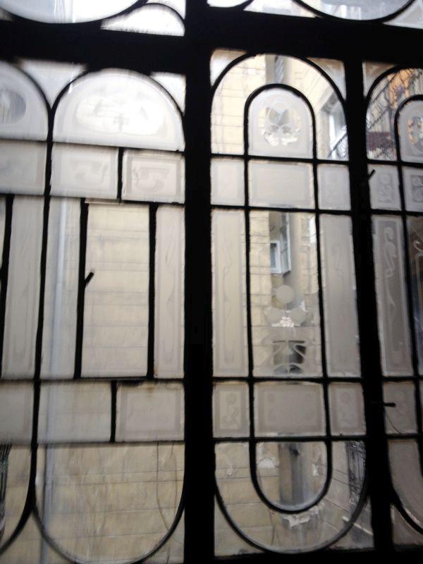 A lépcsőház - Felújítás nem messze a Blahától