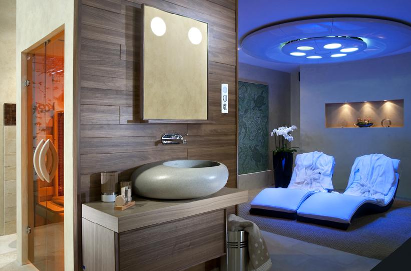 szállodai wellness rész