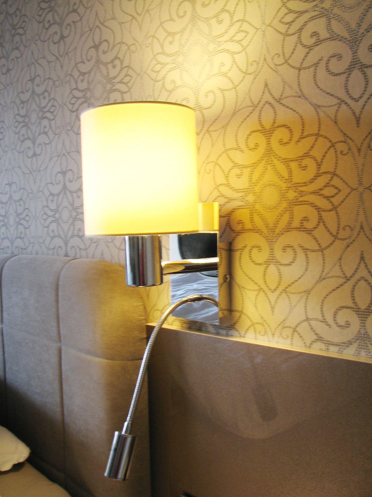 hálószobai lámpa