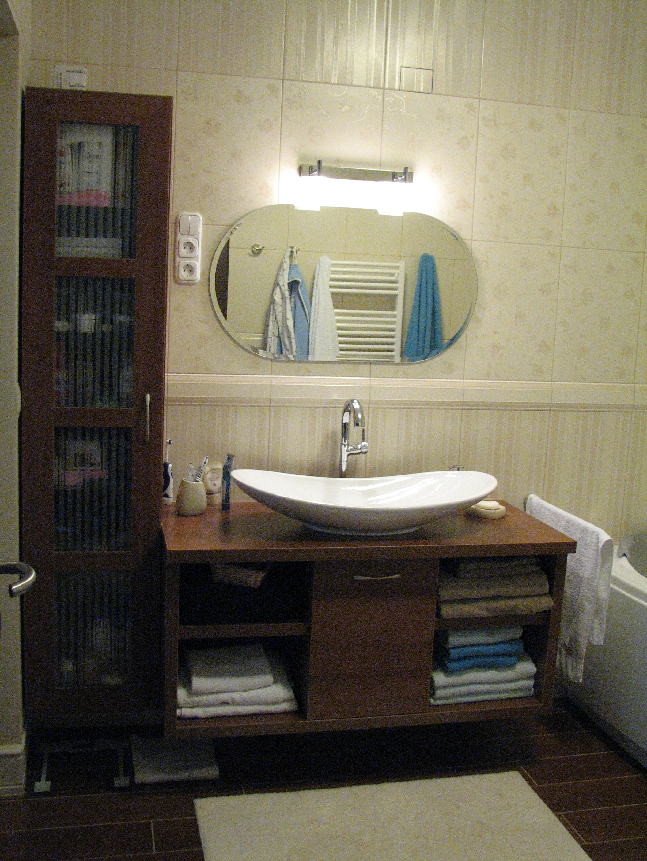 Az új fürdőszoba