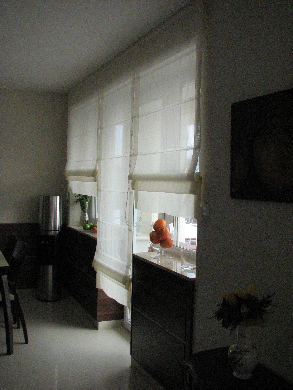 Konyha ablak és függönyök
